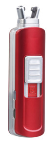 Mini briquet tige USB à arc électrique - Rouge