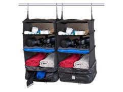 Pack de 2 organiseurs de valise & penderie - Version XL
