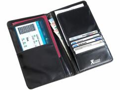 Portefeuille anti-RFID spécial voyage