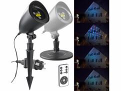 Projecteur laser RVB télécommandé avec effet ciel étoilé LP-350