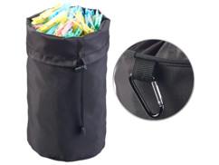 sac de rangement pour pinces à linge en extérieur resistant à la pluie avec mousqueton