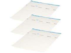 Sacs de rangement sous vide pour textiles (x3) - 80 x 100 cm