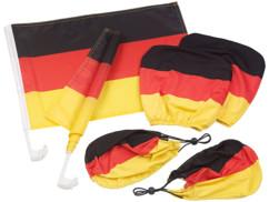 kit de supporter drapeau allemagne mannshaft housses de retroviseur appuie tete