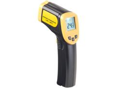 Thermomètre laser digital professionnel sans contact jusqu'à 550°C AGT Pro