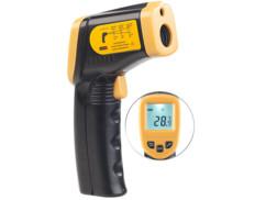 Thermomètre infrarouge sans contact de -50 à 550 °C avec pointeur laser