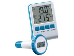 Thermomètre numérique de bassin et de piscine avec récepteur radio LCD, IPX8