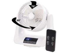 Ventilateur à oscillation 3D Ø 21 cm / 45 W
