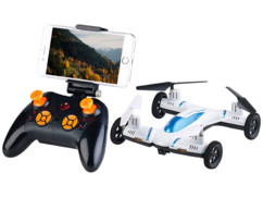 Voiture quadricoptère 2 en 1 wifi 2,4 GHz avec caméra HD intégrée GH-45.car