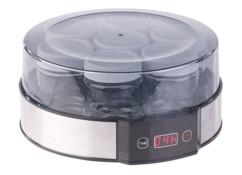 Yaourtière 20 W avec minuteur intégré et 7 pots individuels 190 ml