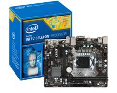 kit Carte Mère MSI H110m Pro-VH Socket 1151 avec processeur intel celeron G3900