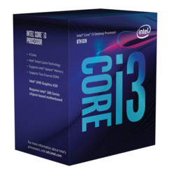 Processeur Intel Core i3 8100