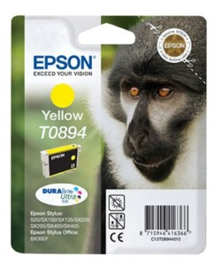 Cartouche originale Epson ''T089440'' jaune