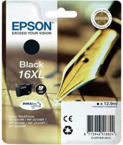 Cartouche originale Epson ''T163140'' N°16XL Stylo plume noir