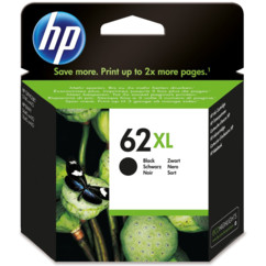 cartouche originale hp 62xl noir black C2P05AE officejet envy
