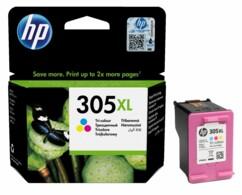 Cartouche HP N°305 XL 3YM63AE couleurs.