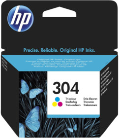 Cartouche originale HP N°304 N9K05AE- Couleur