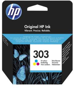 Cartouche originale HP ''T6N01AE'' N° 303 - CMJ