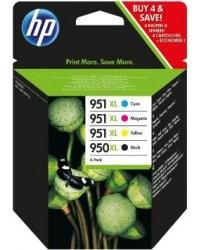 Cartouches HP pack 950XL (noir) / 951XL (cyan/magenta/jaune)
