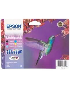 """Multipack Epson """"Colibri"""" T080740 - CMJN"""