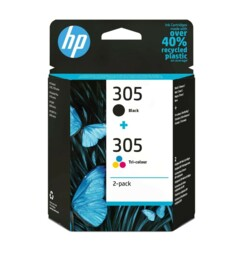 Pack de 2 cartouches originales HP N°305 6ZD17AE.