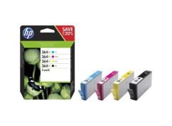 Cartouches originales HP N°364 XL N9J74A - Pack