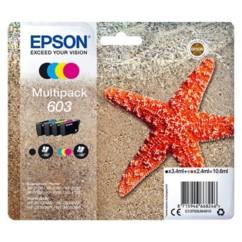 Pack de cartouches originales Epson série 603 CMJN.