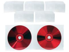 50 doubles boîtiers slim pour CD