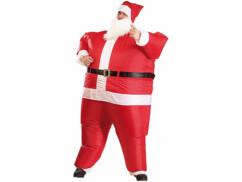 Costume gonflable ''Père Noël''