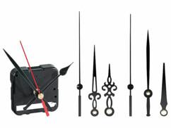 Mécanisme d'horloge Inversé avec 3 Sets d'Aiguilles