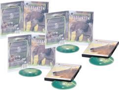 5 Boîtiers rectangulaires pour 2 DVD / CD - Transparents