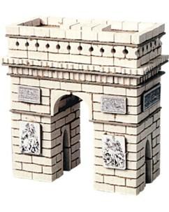 Jeu de construction en terre cuite ''Arc de Triomphe''