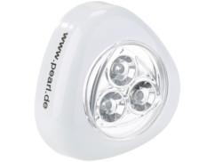 Lampe mobile à LED ''Stick & Push'' - Blanc