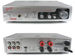 connectiques Amplificateur audio pour karaoké 2x75w dynavox esa-18