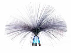 """Lampe à fibre optique couleurs changeantes """"Blue Ice"""""""