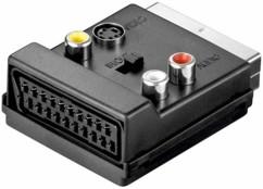 Adaptateur péritel/cinch/svidéo