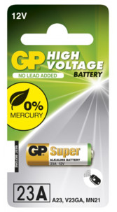 petite pile ronde a23 23a gp 12v pour telecommande volet garage portail store