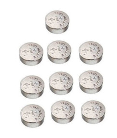 Tecxus piles boutonLR44 - Lot de 10