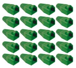 20 manchons verts pour prise RJ45