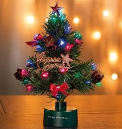 Sapin de Noël à piles