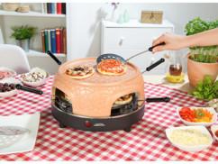Four à pizza avec couvercle en terre cuite 6 personnes (reconditionné)