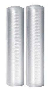 2 rouleaux de film plastique pour appareil de mise sous vide