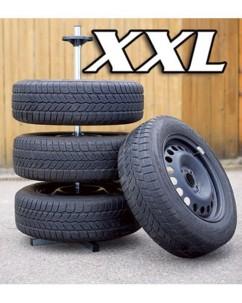 Support de rangement pour 4 roues - Pour pneus jusqu'à 295 mm