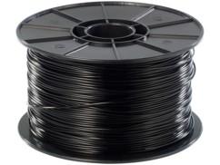 Filament HIPS pour imprimante 3D - 1 kg - noir - 1,75 mm