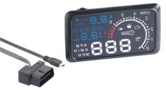 Afficheur tête haute HUD-55C.bt pour prise OBD-II bluetooth