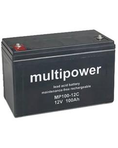Batterie 12 V AGM 100 Ah - longue durée