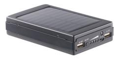 Batterie d'appoint solaire avec lampe de camping 11 000 mAh