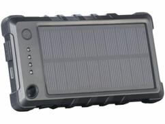 Batterie de secours solaire 4000 mAh ''PB-40.s'' ultra-résistante