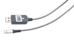 cable de chargement micro usb avec parasurtenseur intégré et optimisateur de chargement rapide