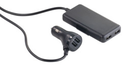 Chargeur Smart Power 4 ports USB 7,2A  pour allume-cigare 12/24V