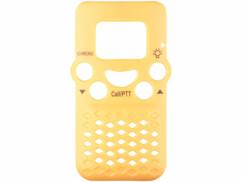 facade avant jaune pour talkie walkie professionnel simvalley wt-305